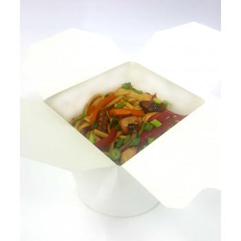 Лапша с морепродуктами овощами